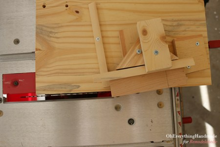 Ikea Karlstad Tapered leg - cutting table