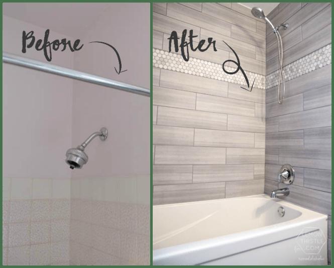 Diy Bathroom Remodel Before And After diy bathroom renovation on a budget : brightpulse