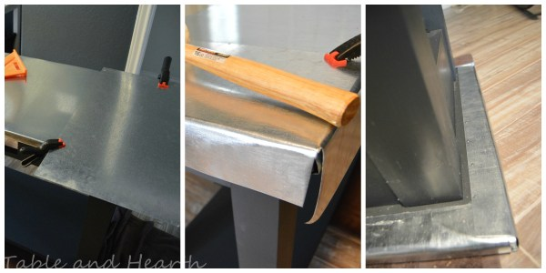 diy metal table top tutorial - Table and Hearth featured on @Remodelaholic (8)