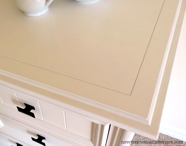 how to paint furniture and get a smooth finish Newton Custom Interiors