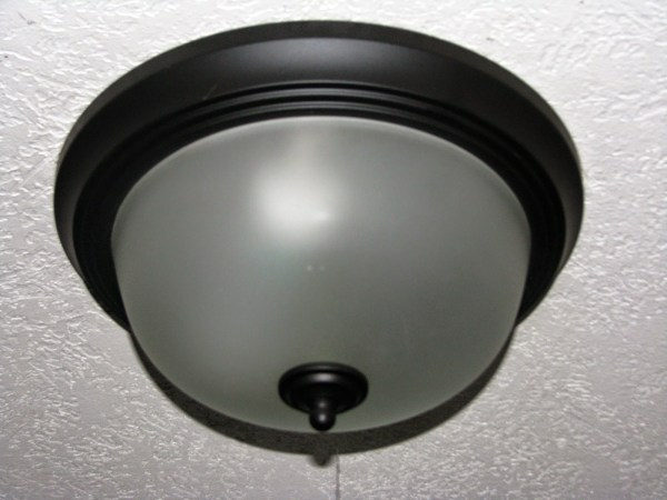 how to update a standard boob light - My So-Called DIY Blog on @Remodelaholic