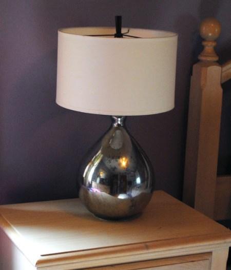 mercury glass lamp 16