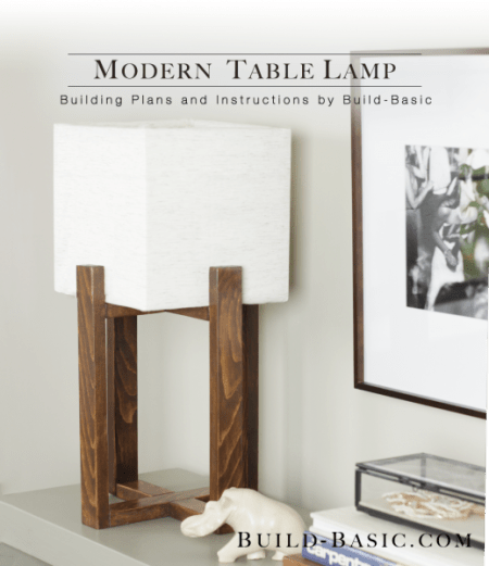 modern wood table lamp