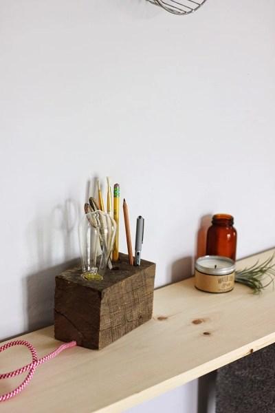 wooden base desk lamp 7