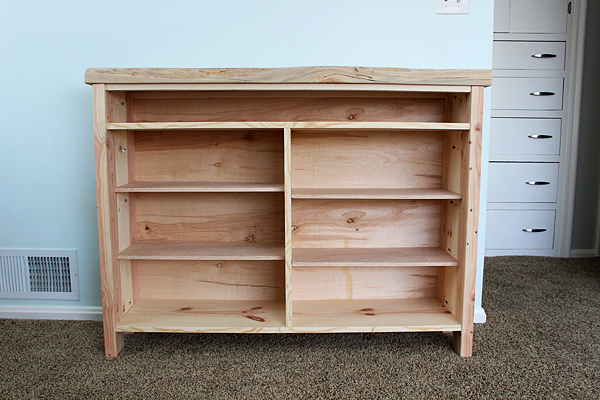 Build a Storage Hutch Using Old Windows for Doors by Two Feet First featured on @Remodelaholic