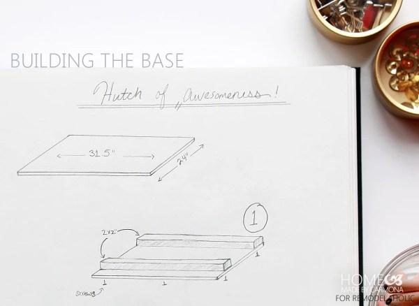 Building the base - HMBC for Remodelaholic