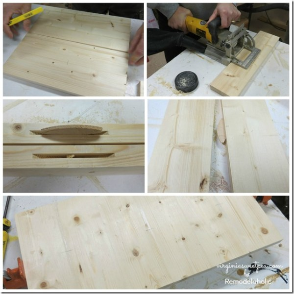 Create a Wooden Storage Crate by Virginia Sweet Pea featured on @Remodelaholic