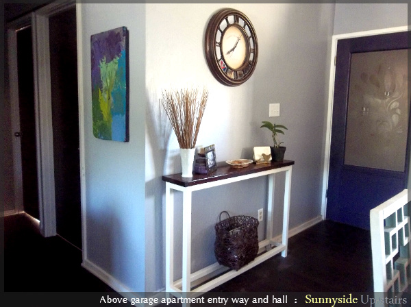 How to Build an Entry Door and Frosted Glass Pane by Sunnyside Up-stairs featured on @Remodelaholic