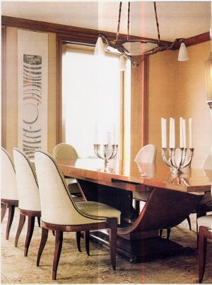 Remodelaholic | Art Deco Dining Room