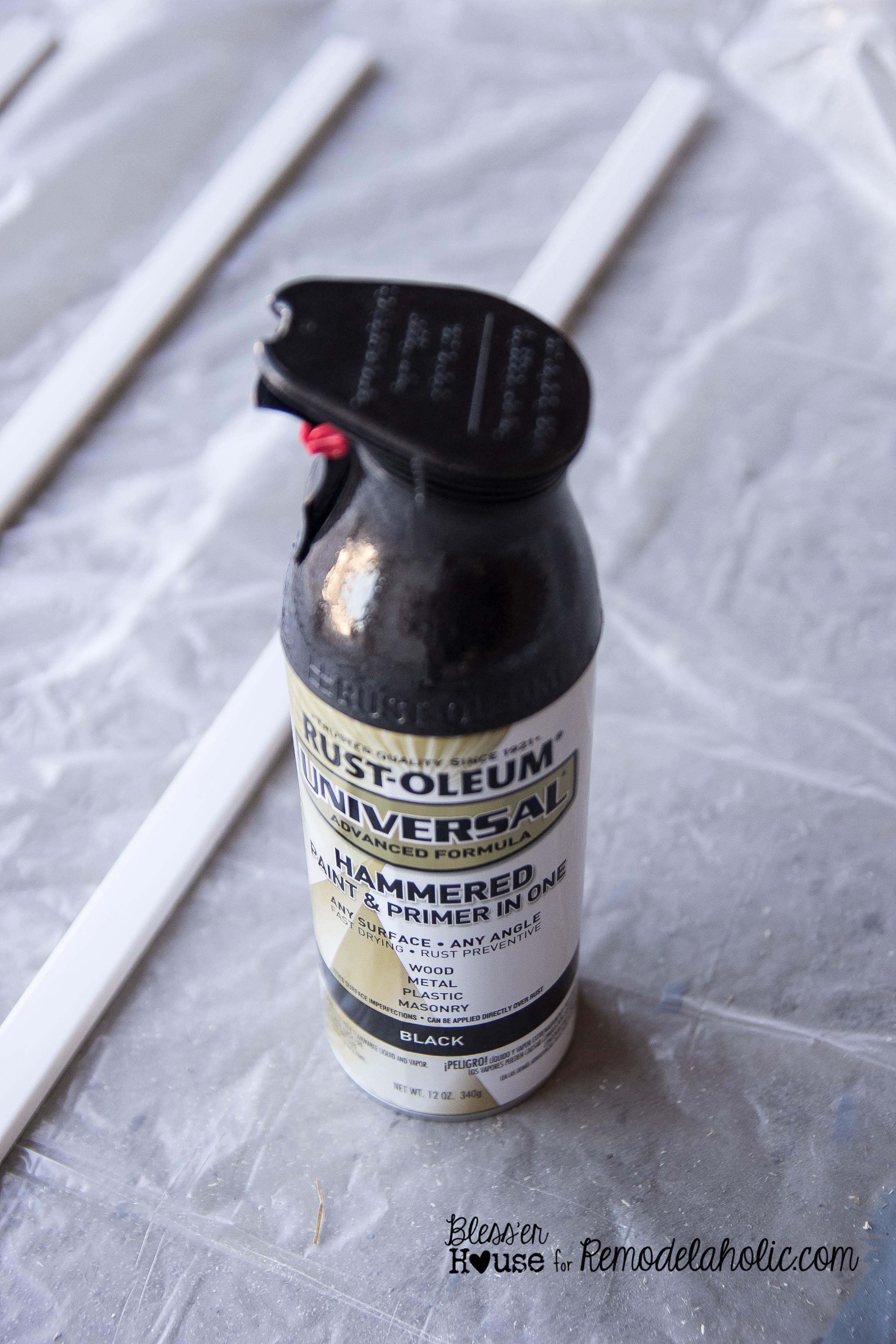 Remodelaholic | DIY Industrial Factory Window Shower Door
