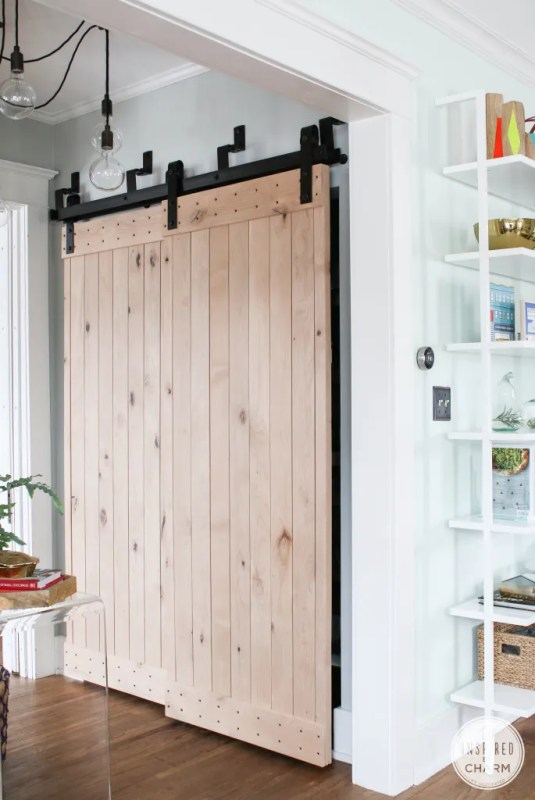 double set, bypass barn doors - Inspired By Charm