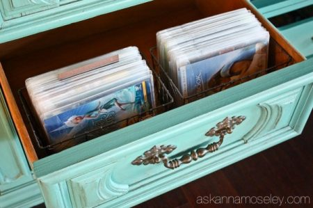DVD storage ideas that are compact and efficient, from Remodelaholic