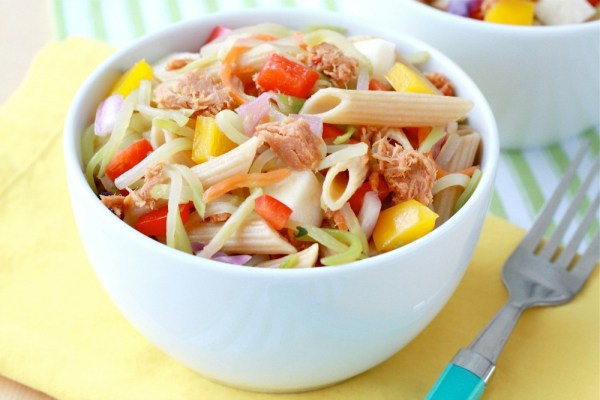 Hungry Girl Sweet & Spicy Tuna Pasta Salad