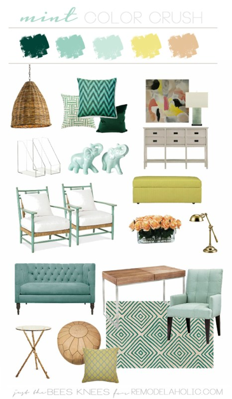 mint-color-crush on remodelaholic.com