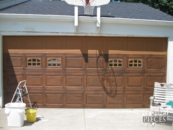 painted-wood-garage-door