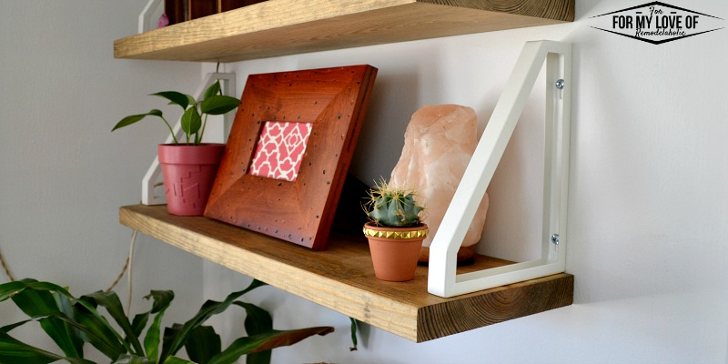 Remodelaholic Diy Wall Shelf Reverse Ikea Ekby Lerberg