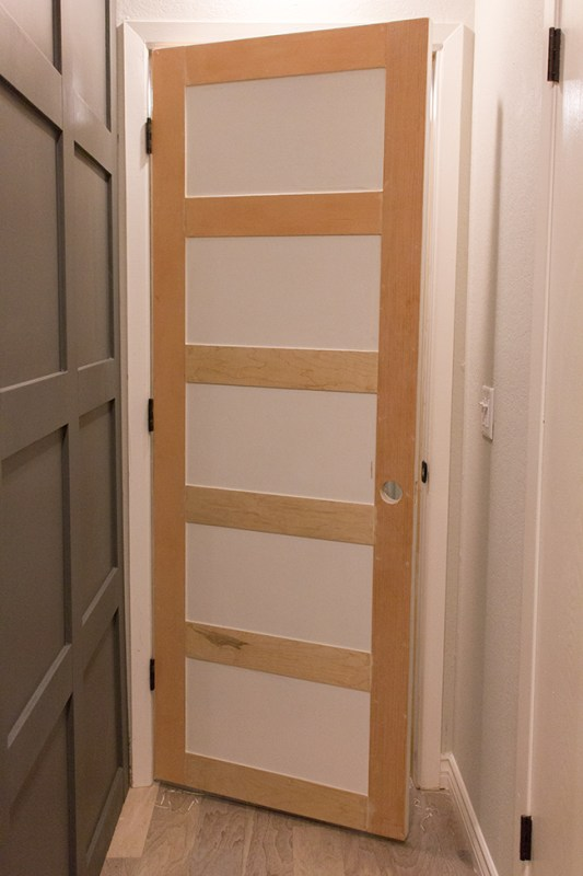 Add Style to a Plain Door by Jenna Sue Design Co featured on @Remodelaholic