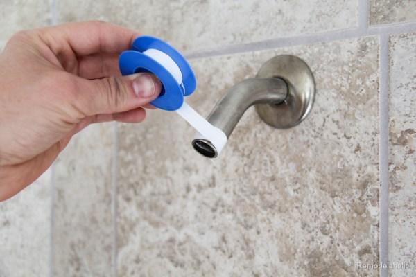 HOw to install a new showerhead Moen Magnetix-3584