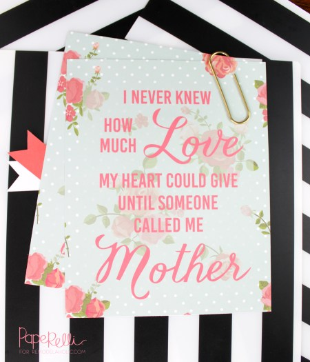 Mother's Day Print @Remodelaholic