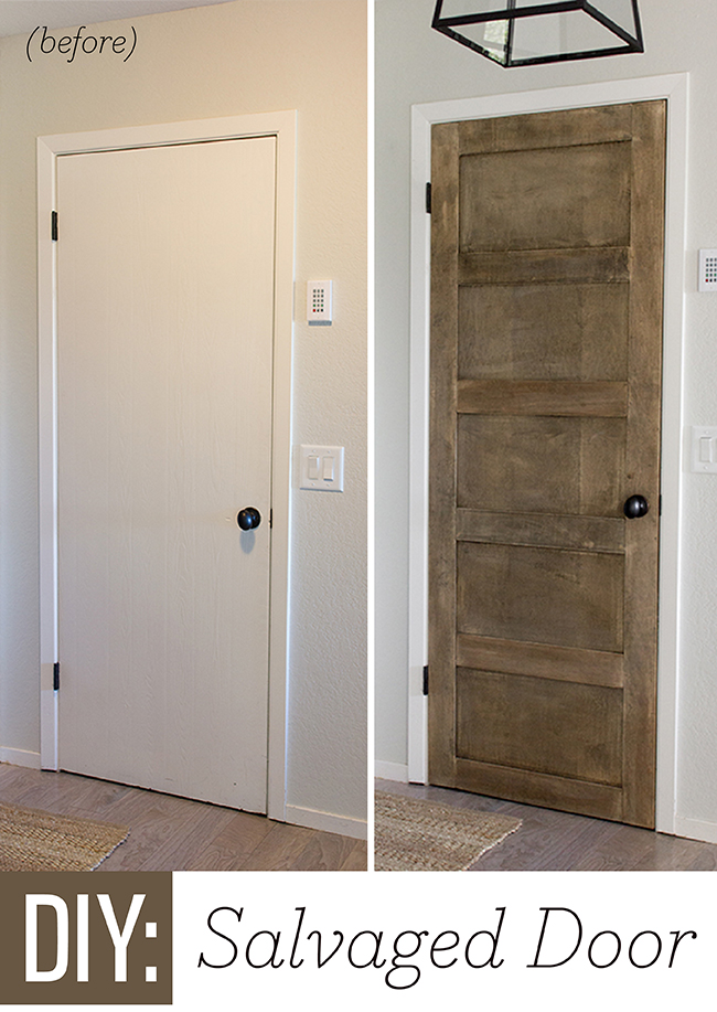 Turn A Plain Door Into A 5 Panel Door By Jenna Sue Design Co Featured On