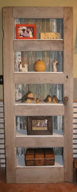 Angled Bookshelf Repurposed Life