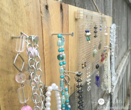 close up of jewelry holder