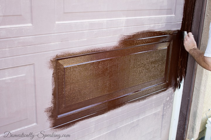Remodelaholic   8 DIY Garage Door Updates on Garage Door Paint Ideas  id=14844
