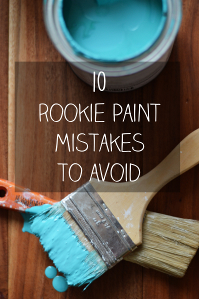 painted projects - tips and mistakes Decor Daydreams