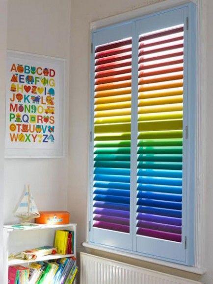 Rainbow Playroom Inspiration | Found on rainblowg.tumblr.com