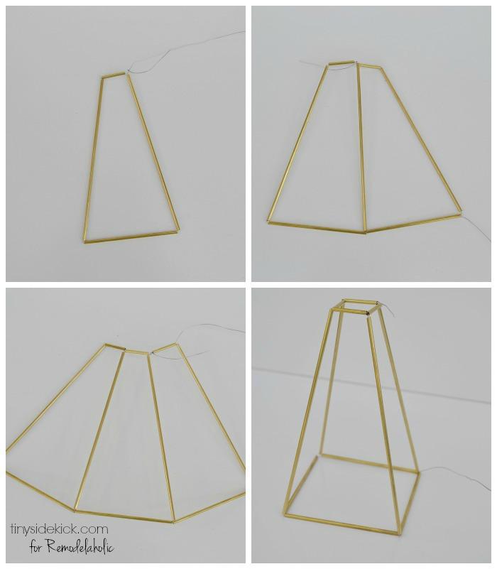 DIY Himmeli Pendant Light
