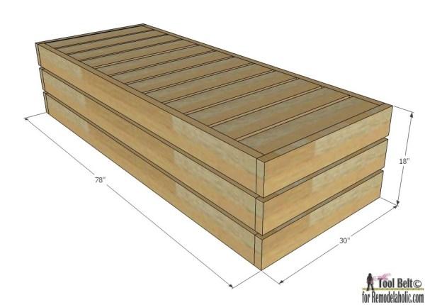 Profitez de la météo en plein air avec style. Construisez une chaise longue d'extérieur DIY avec ces plans gratuits.
