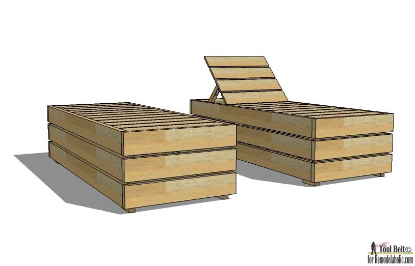 Enjoy The Weather Outdoor In Style. Build A DIY Outdoor Lounge Chair With  These Free