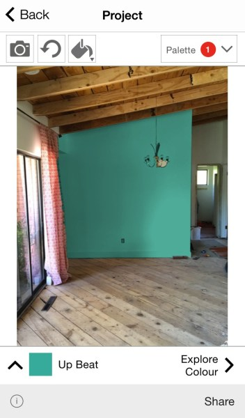 Remodelaholic free diy mobile apps to test paint colors for Redesign my room app