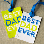 Best Dad Ever Printable Gift Tags