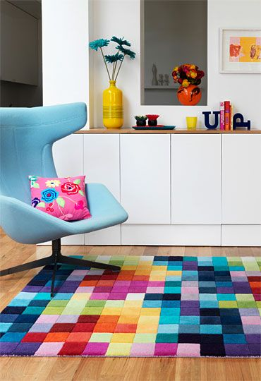 Rainbow Playroom Inspiration | Found on wovenground.com
