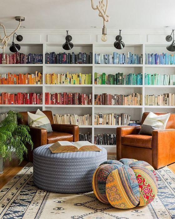 Rainbow Playroom Inspiration | Found on stylecaster.com
