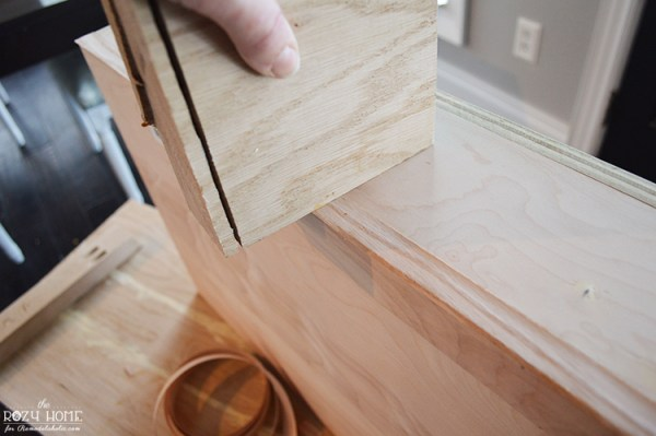 Building an indoor swing for kids, smooth wood banding
