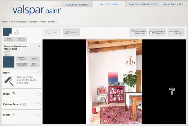7 free online tools to test paint color before you buy - Valspar Virtual Painter