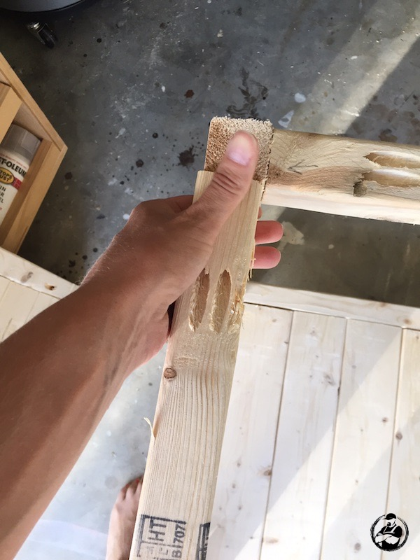 DIY Simple Square Side Table Plans - Step 8