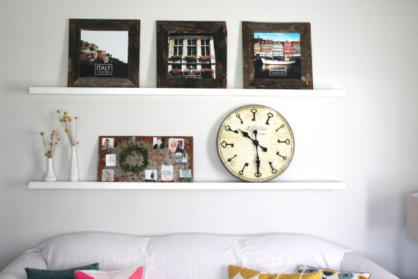 How to Create Weathered Industrial Wall Art by The Winthrop Chronicles featured on Remodelaholic