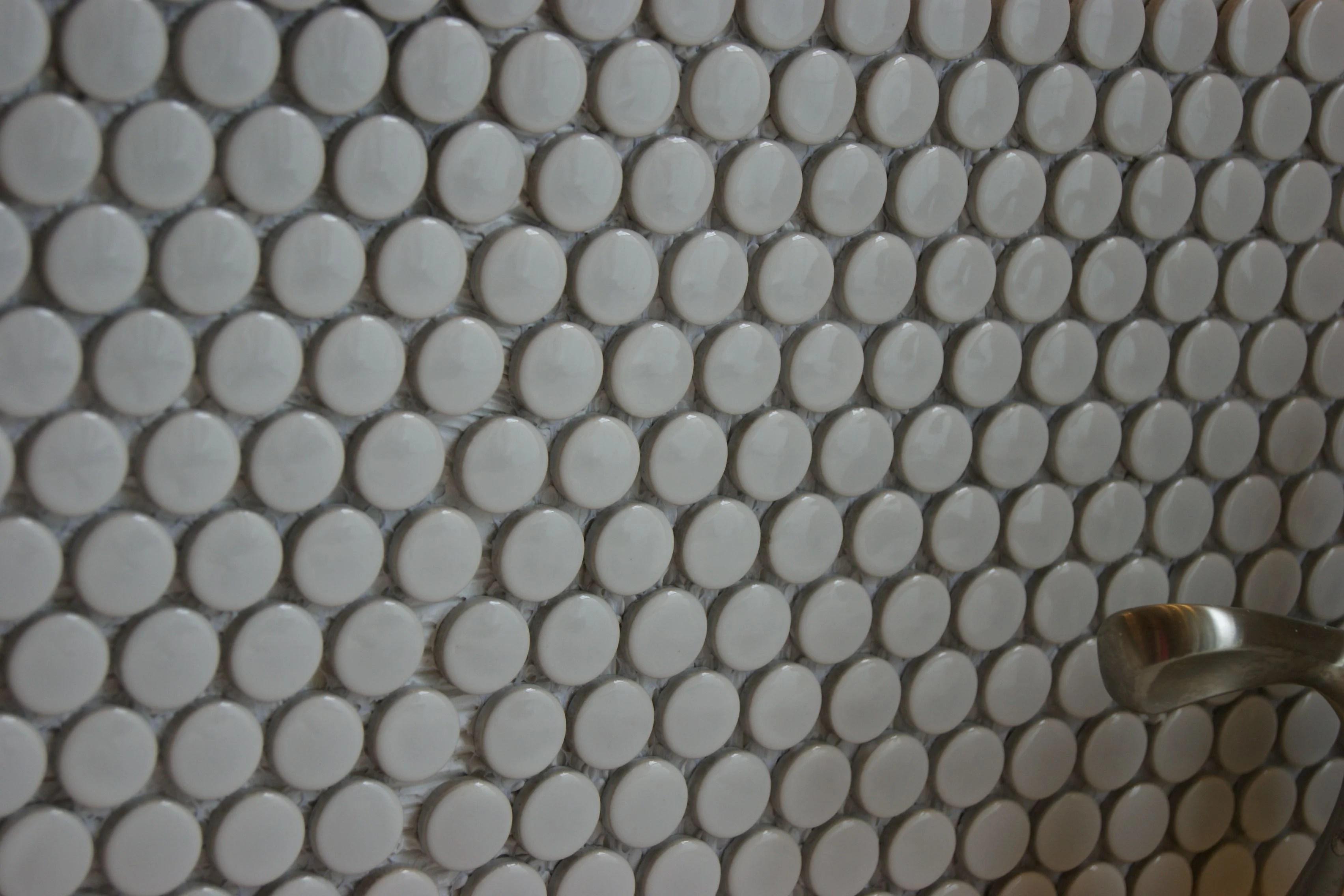How To Install A Penny Tile Backsplash
