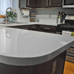 Glossy Painted Countertops