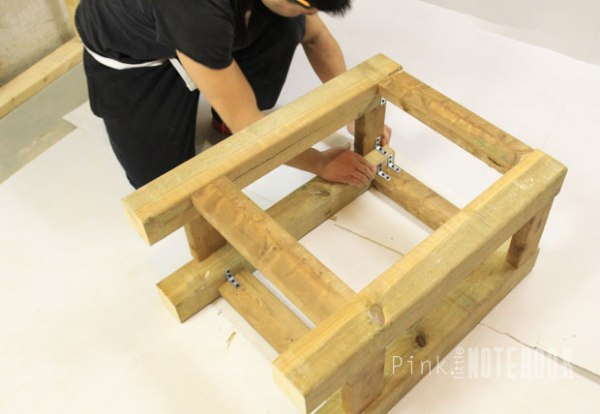 Vanity Tutorial for an IKEA Sink by Pink Little Notebook featured on Remodelaholic