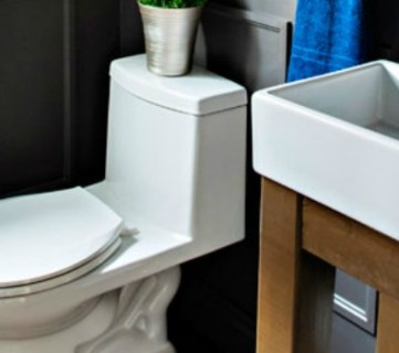 Build a Simple Open Vanity for an IKEA Sink