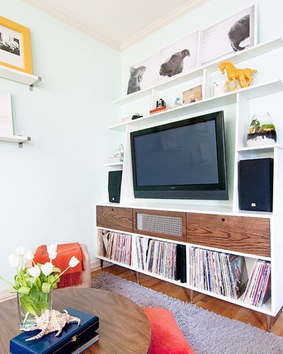 Apartment Therapy Kitchen Shelves: 95 Ways To Hide Or Decorate Around The TV