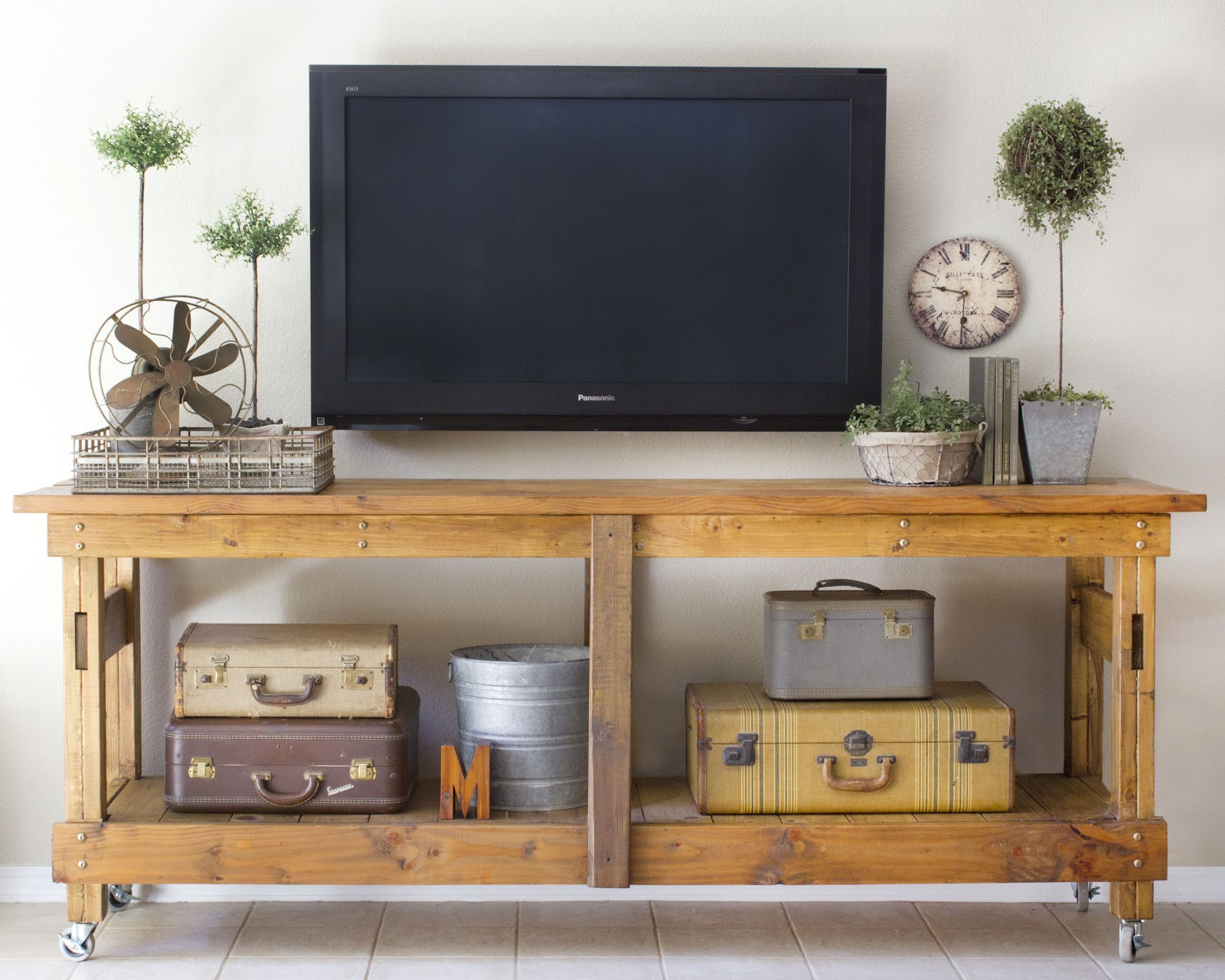 Incredible Remodelaholic 95 Ways To Hide Or Decorate Around The Tv Home Interior And Landscaping Ologienasavecom