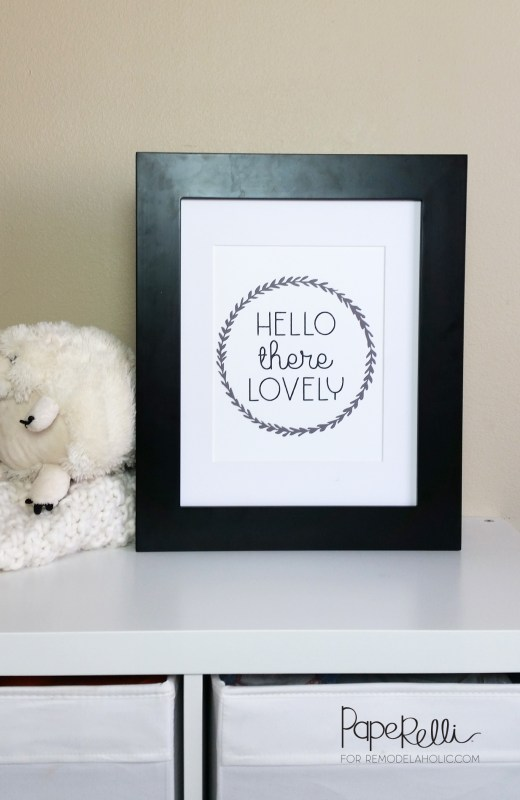 Hello There Lovely Art Print