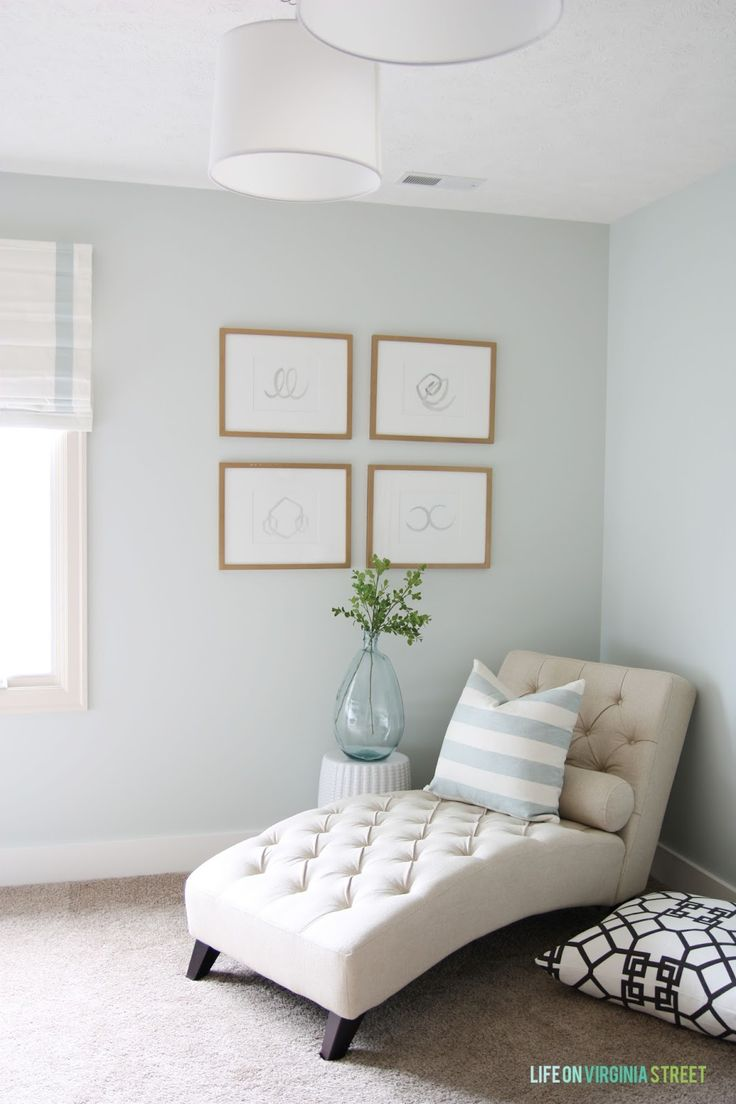 Remodelaholic | Color Spotlight: Healing Aloe from Benjamin Moore