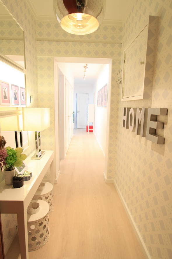 Remodelaholic | 12 Tips and Tricks to Make the Most of Your Hallway ...