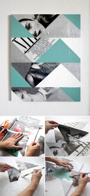 easy diy abstract photo art (Promise Tangeman Blog)